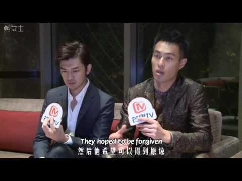 [Eng sub] Chen Bolin and Yo Yang interview 陳柏霖 楊祐寧專訪