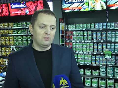 """Ділові вісті. Відкриття фірмового магазину """"Sniezka"""" в Івано-Франківську"""
