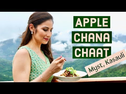 Chana Chaat Recipe with Famous Himachali Apples I Chef Meghna I Tata Housing's Myst @ Kasauli
