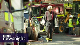 'I've never seen a fire spread that quickly': Reports from Grenfell Tower - BBC Newsnight