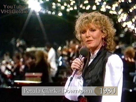 Petula Clark - Downtown - 1980