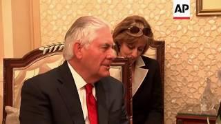 Tillerson Meets with Kuwait's Emir