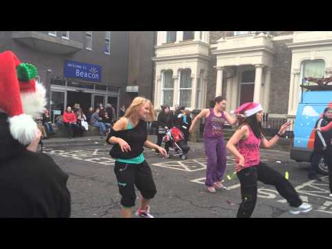 North Shields Zumba demonstration with YMCA North Tyneside