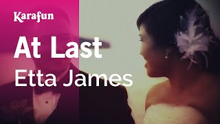 Karaoke At Last - Etta James *
