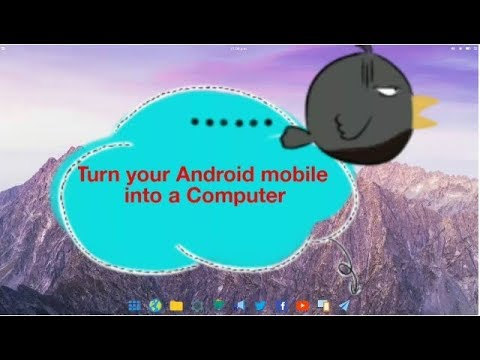 Turn your Android mobile into a Computer, Laptop or Tablet [hindi]