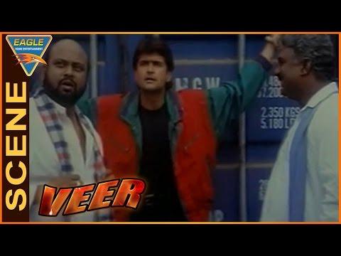 Veer Movie    Dharmendra Go to Save Arman Kohli    Dharmendra    Eagle Hindi Movies