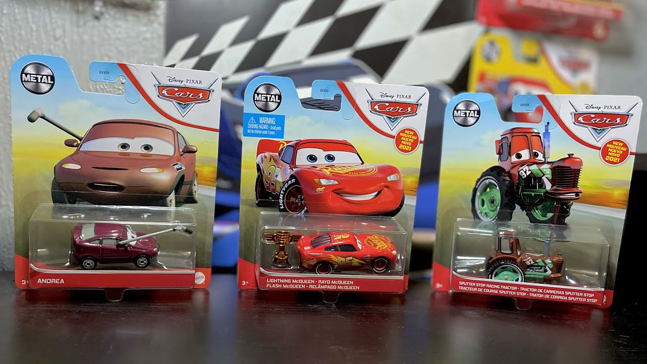 """New"" 2021 McQueen With Piston Cup - Or Is It? 