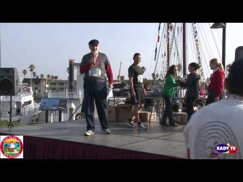 Santa to the Sea Half Marathon Awards Presentation
