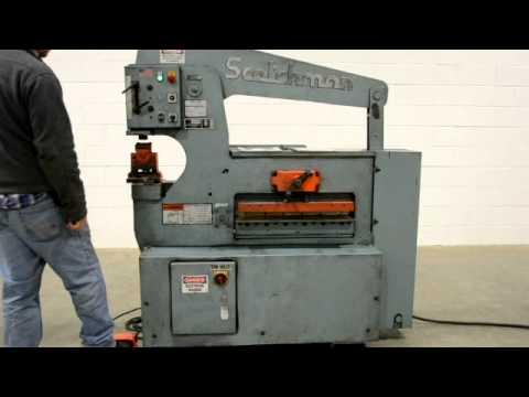 Scotchman 65 Ton Ironworker