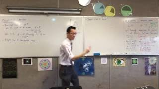 Projectile Motion (4 of 5: Finding max height using vertical velocity and displacement equations)