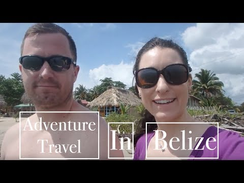 Adventure TRAVEL in BELIZE : Hopkins Village, Beach & Blue Hole Nat. Park: Part 1