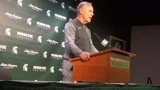 Michigan State Spartans Football: Mark Dantonio Oct  1, Pre Ohio State