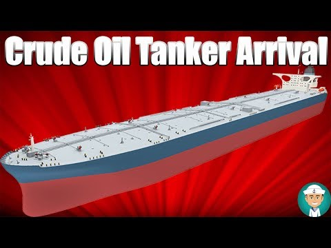 Procedures When a Crude Oil Tanker Arrives at Port