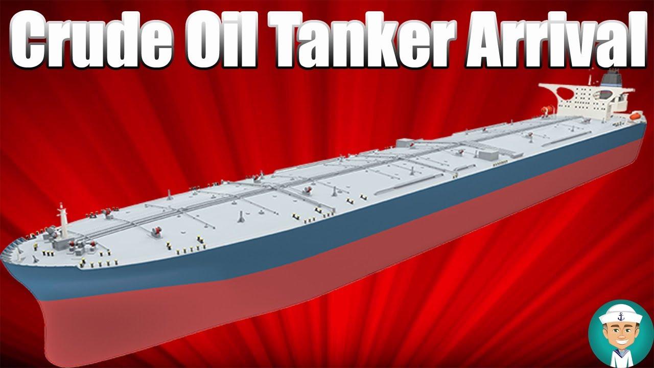 Procedures When a Crude Oil Tanker Arrives at Port