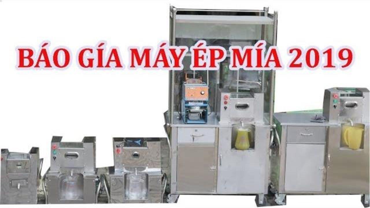 Báo giá các loại máy ép nước mía siêu sạch xe nước mía mẫu mới 2019✅ 💎💎