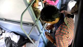 Chai Guy on Indian Train