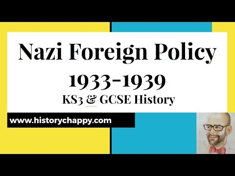 Nazi Foreign Policy 1933-1939