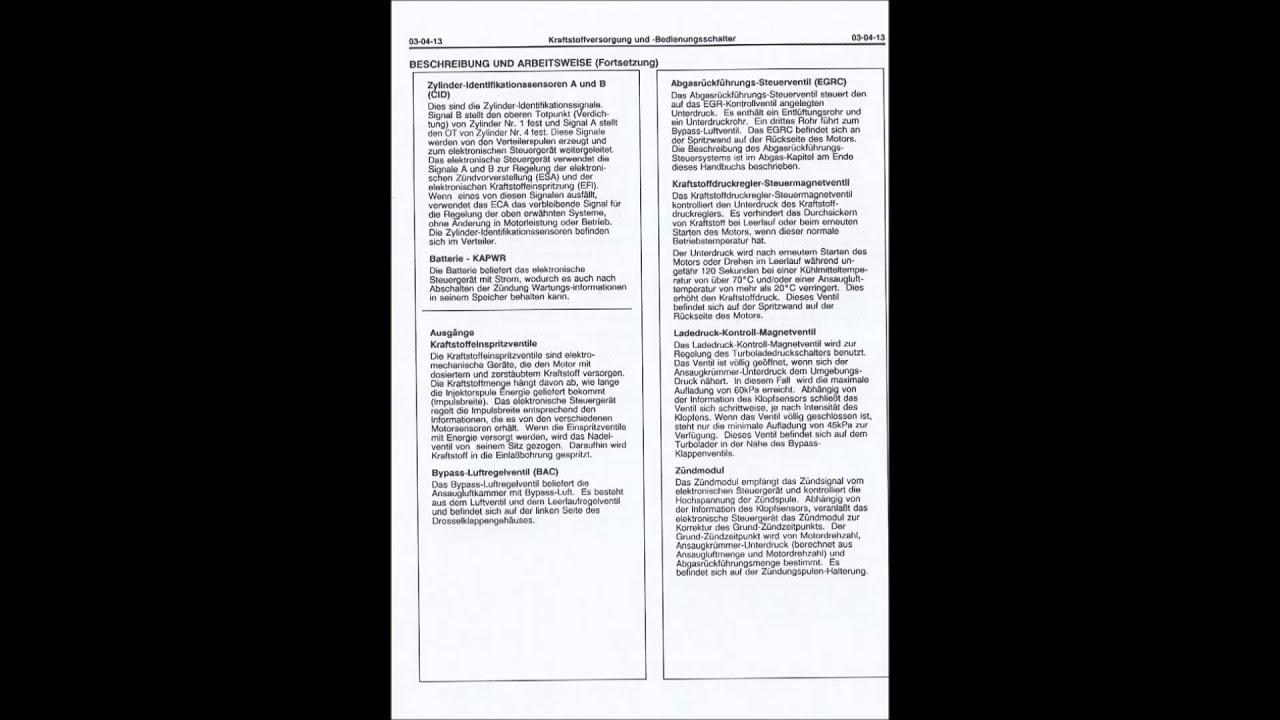 motor werkstatt handbuch ford probe gt 2 2 turbo manual repair rh youtube com Ford Engine Repair Manual Engine Repair Book