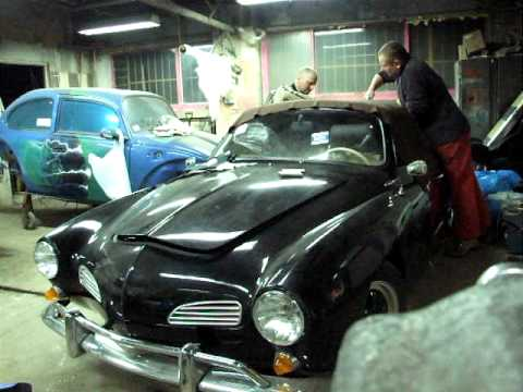 VW Karmann Ghia type 14 Convertible Top Replacement (roof ...