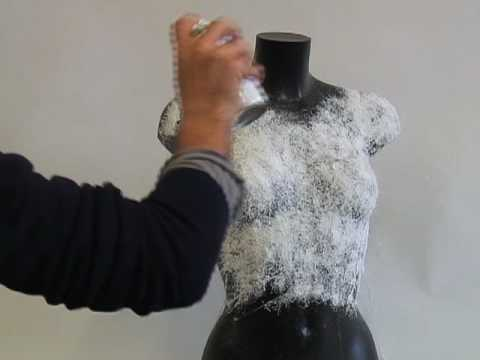 Video spray-on T-shirt