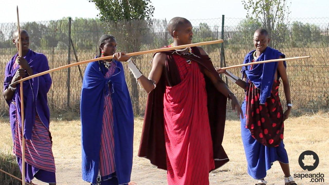La Caza Masai Cultura Masai Sapeando Youtube