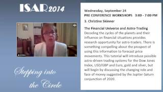 Christeen Skinner - The Financial Universe and Astro Trading