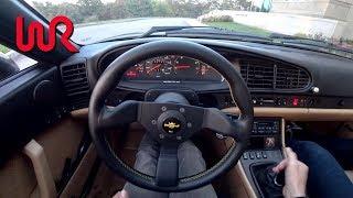 1995 Porsche 968 - Tedward POV Test Drive (Binaural Audio)