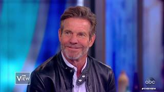 """Dennis Quaid Talks Family and Series """"Merry Happy Whatever""""   The View"""