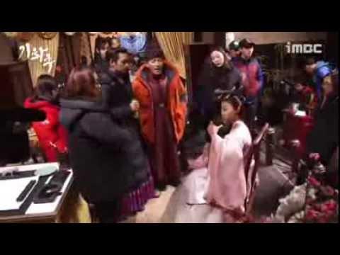 [Behind The Scenes] 기황후 - 비파연주에 푹 빠진 촬영현장~♬ 20140218