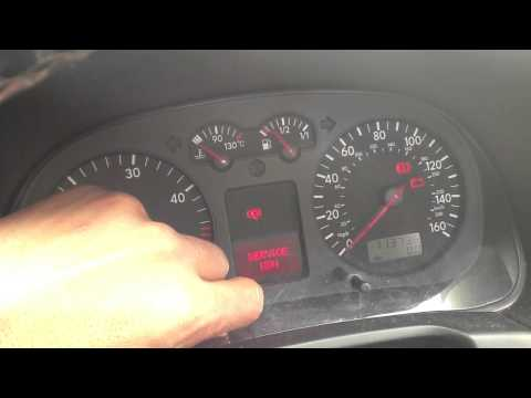 How To Reset Service Indicator Light On A Volkswagen Simple Easy Steps