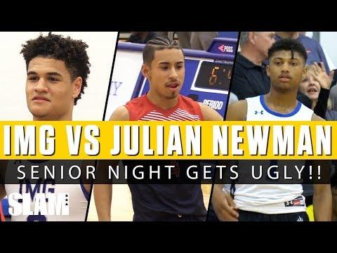 IMG Academy Vs Julian Newman! 😈 Senior Night Gets Ugly! 😱