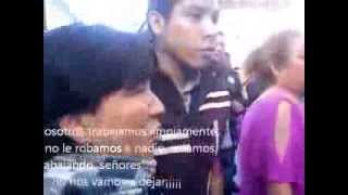 Desalojo comerciantes de Huatusco