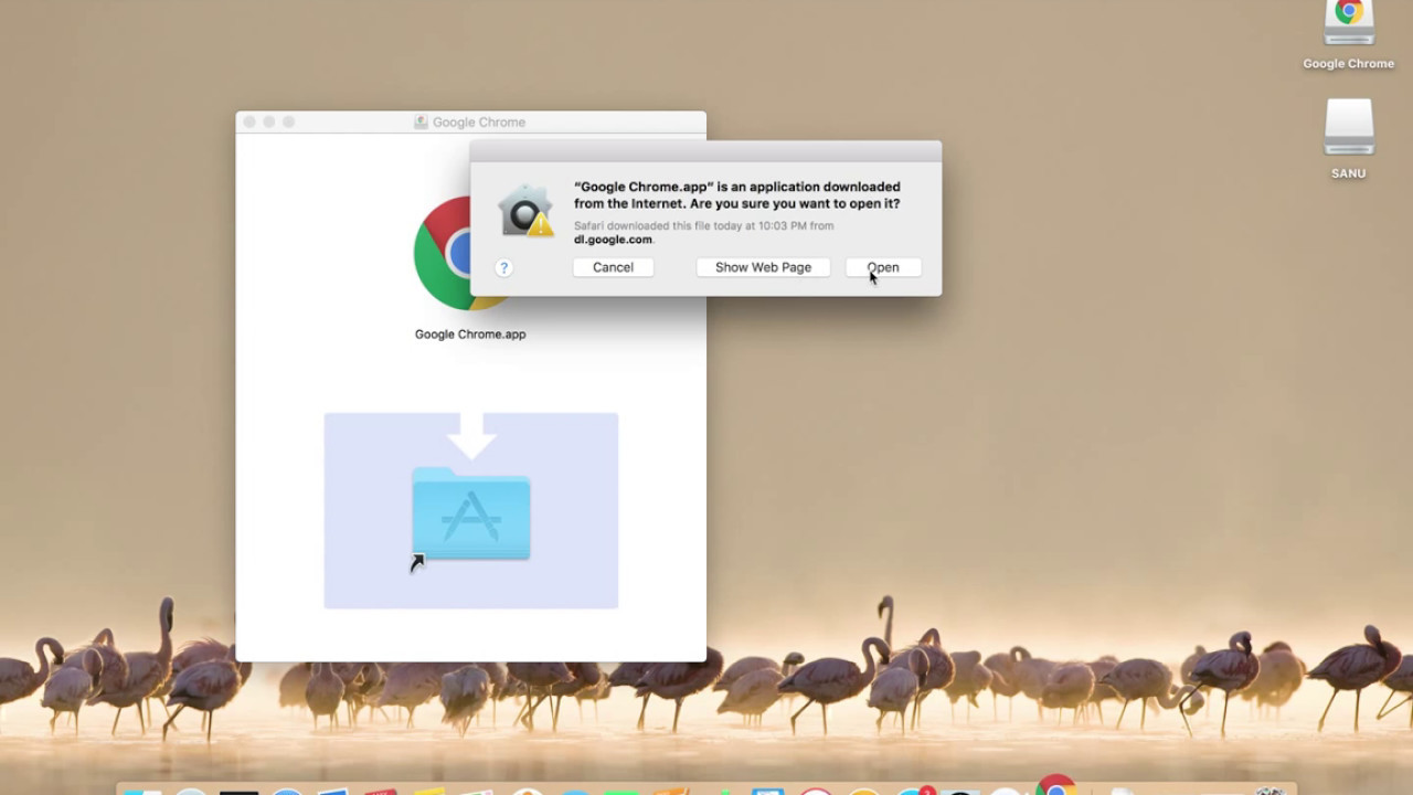 can you download google chrome on macbook pro