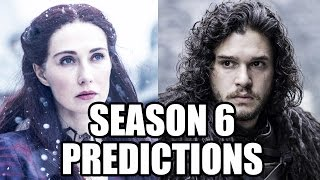 Game of Thrones Season 6 Predictions - Jon Snow, Melisandre & Season 5 Finale Review