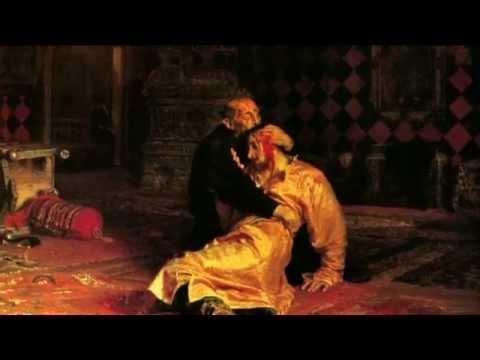 Илья Репин. Иван Грозный и сын его Иван 16 ноября 1581 года