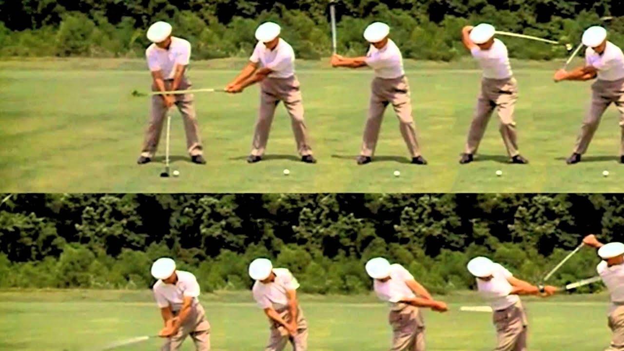 Ben Hogan Golf Swing Sequence