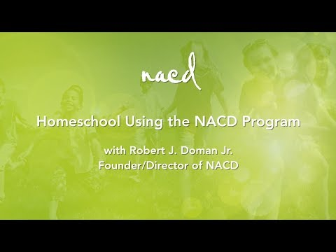 Homeschool Using the NACD Program - Full Seminar with Bob Doman