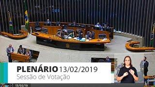 Plenário - Sessão Deliberativa - 13/02/2019 14:00