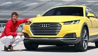 Audi TT Off Road concept 2014 Videos