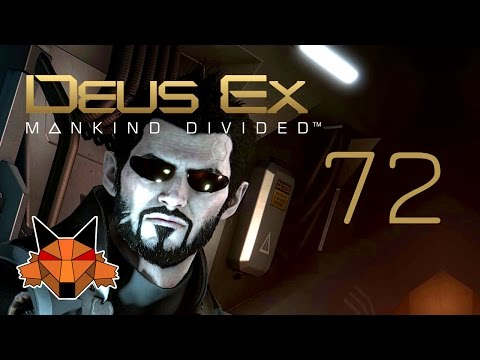 Let's Play Deus Ex Mankind Divided [PC/Blind/1080P/60FPS] Part 72 - Palisade Parking Garage