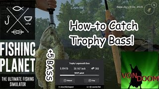 Fishing Planet: How-to Catch Trophy Bass in North Carolina