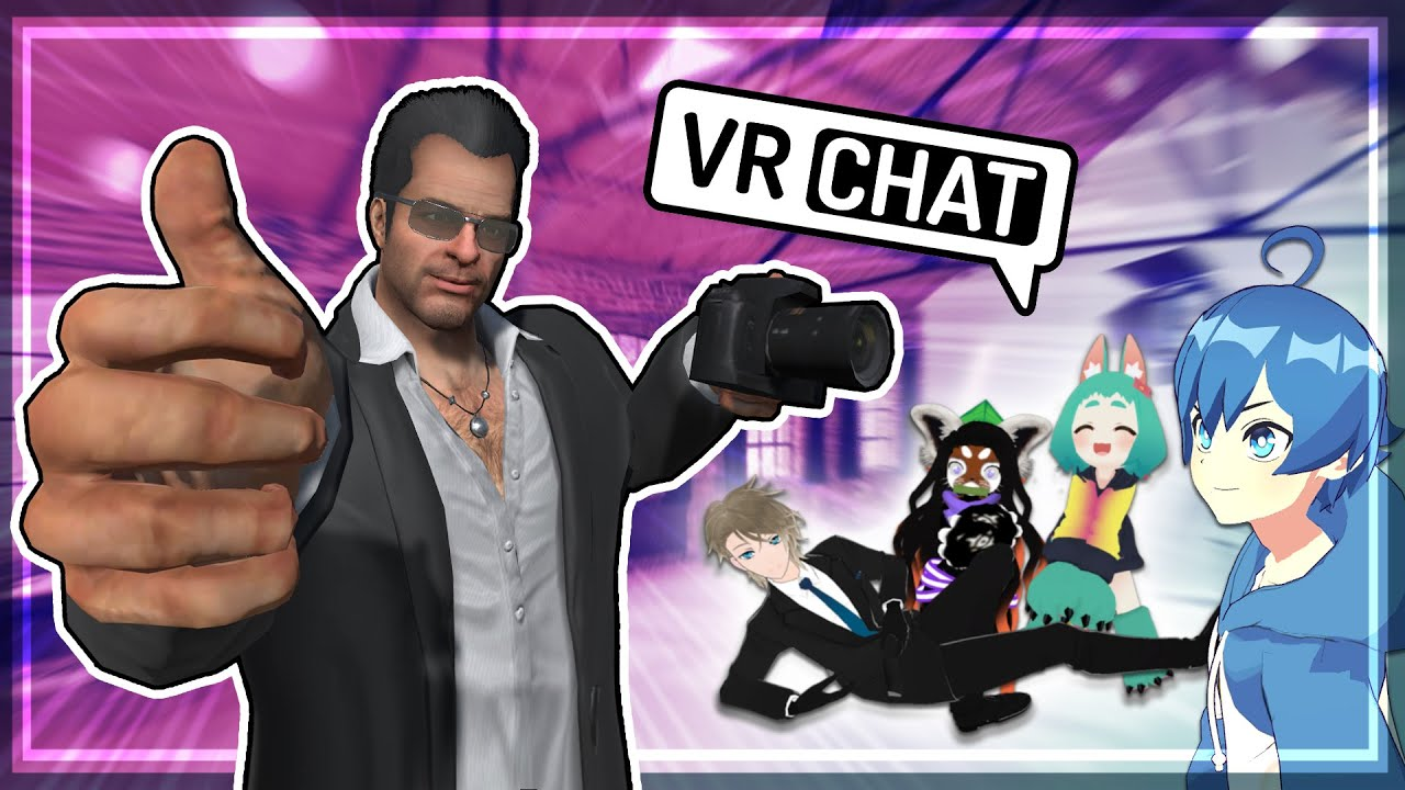 Taking Pictures of VTubers - VRCHAT Funny Moments