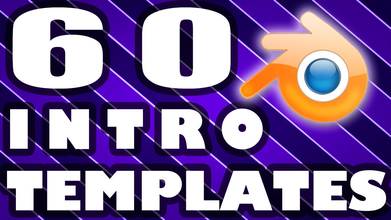 free youtube intro templates - top 60 blender intro template free download 2015 youtube