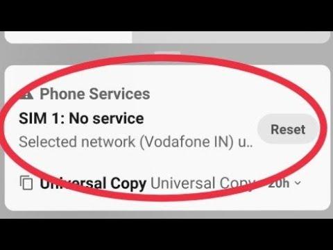 Redmi Note 5 Pro || Sim Card No Service Problem Solve