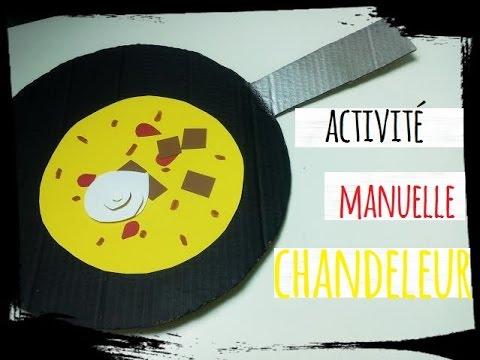 Activit manuelle chandeleur diy cr pes et cr pi re en - Activite manuelle assiette en carton ...
