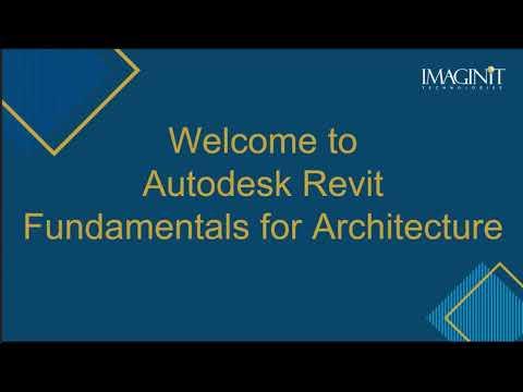 Revit Fundamentals for  Architecture