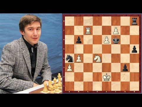 Can You Find A Simple Winning Line Which Sergey Karjakin Missed?