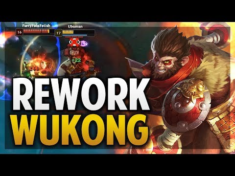 ¡REWORK DE WUKONG! | ESTA BUILD ESTARÁ OP? | League of Legends thumbnail