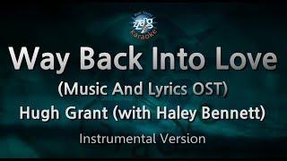 Hugh Grant-Way Back Into Love (with Haley Bennett) (MR) (Karaoke Version) [ZZang KARAOKE]