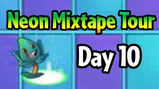 Plants vs Zombies 2 - Neon Mixtape Tour Day 10: Thyme Warp and MC Zom-B
